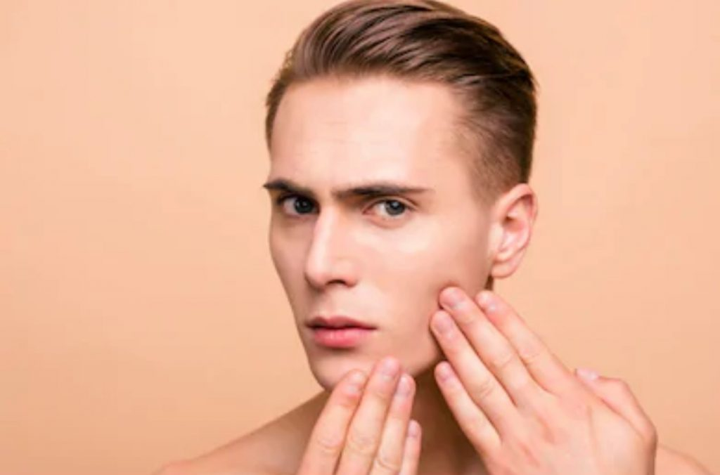 men thinking-Why Is My Skin So Oily?
